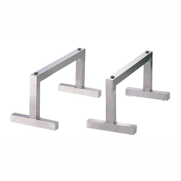 18-8 まな板用脚[2ヶ1組] 40cm 【 業務用 【 便利商品 】