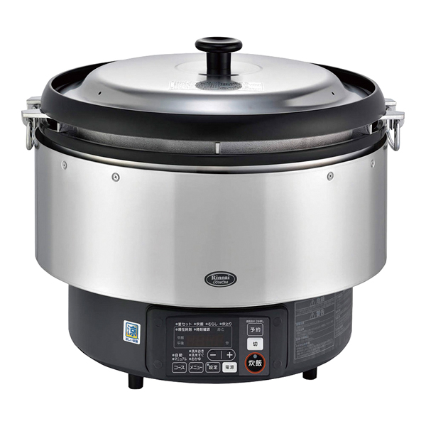リンナイ ガス炊飯器αかまど炊き RR-S500G LPガス 【 メーカー直送/代引不可 】