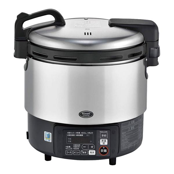 リンナイ ガス炊飯器αかまど炊き RR-S200GV LPガス 【 メーカー直送/代引不可 】