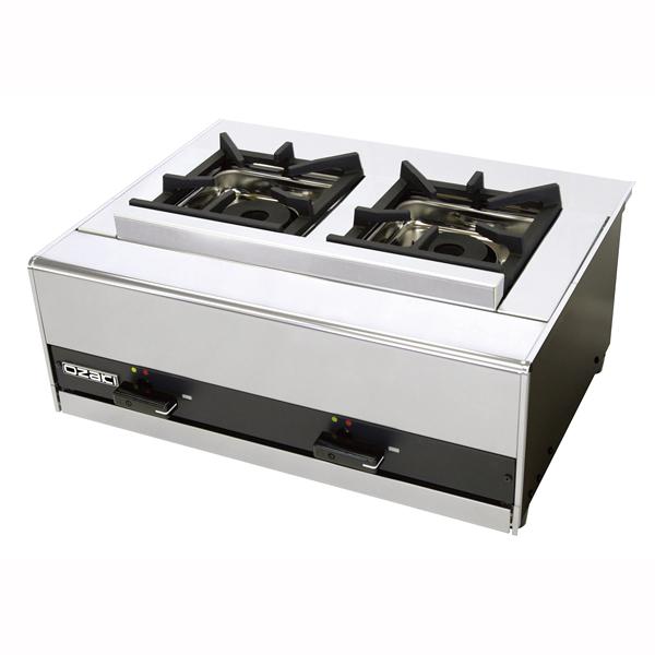 『 コンロ(卓上) 』ガス テーブルコンロ(立消安全装置付) OZ60KX LPガス