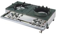『 ガス機器 』ガステーブルコンロ用兼用レンジ S-2228 LPガス