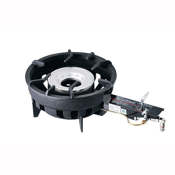 『 鋳物コンロ 鋳物ガスコンロ ガスコンロ 』業務用 業務用ガスコンロ TOMー8000 13A