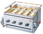 『 焼き物器 グリラー 』アサヒサンレッド 黒潮 4号 SG-20K LPガス【 メーカー直送/代金引換決済不可 】