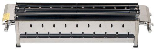 『 焼き物器 焼鳥 うなぎ焼台 』無煙式やきとり器 KE-W LPガス【 メーカー直送/後払い決済不可 】