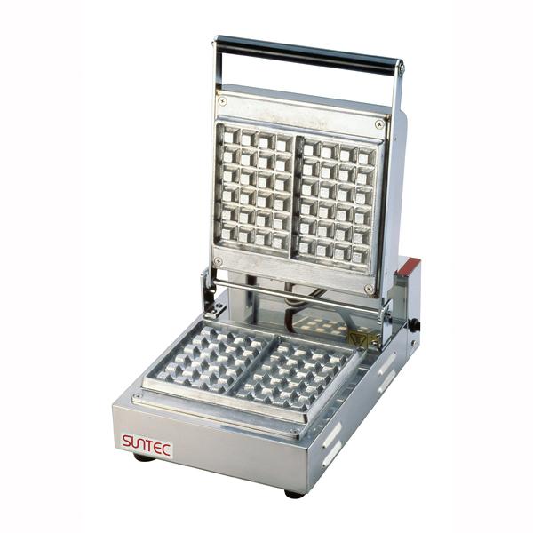 『 焼き物器 ワッフルベーカー 』ベルジャンワッフルベーカー SBW-100角型