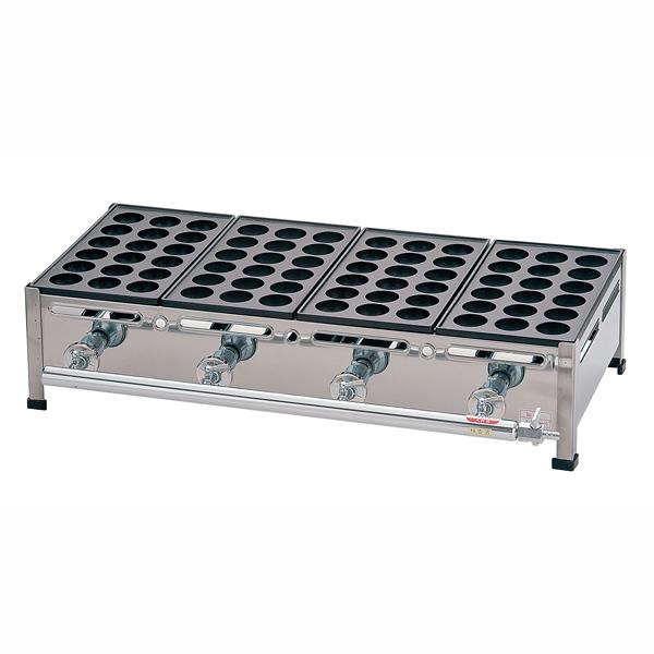 関西式たこ焼器(18穴) 5枚掛 LPガス