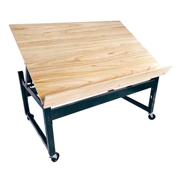 可変青果テーブルV型(板天板仕様) 1500 基本体