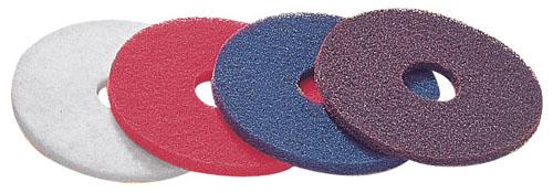 CP-12K用51ラインフロアパッド [5枚入] 赤 【 メーカー直送/後払い決済不可 】 【 業務用 【 床清掃用品 】