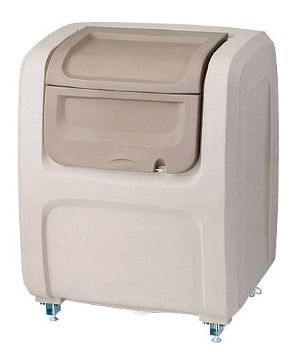 『 ゴミ箱 ゴミステーションボックス 』セキスイ ダストボックスDX #500据置型 DXS5BE ベージュ【 メーカー直送/後払い決済不可 】