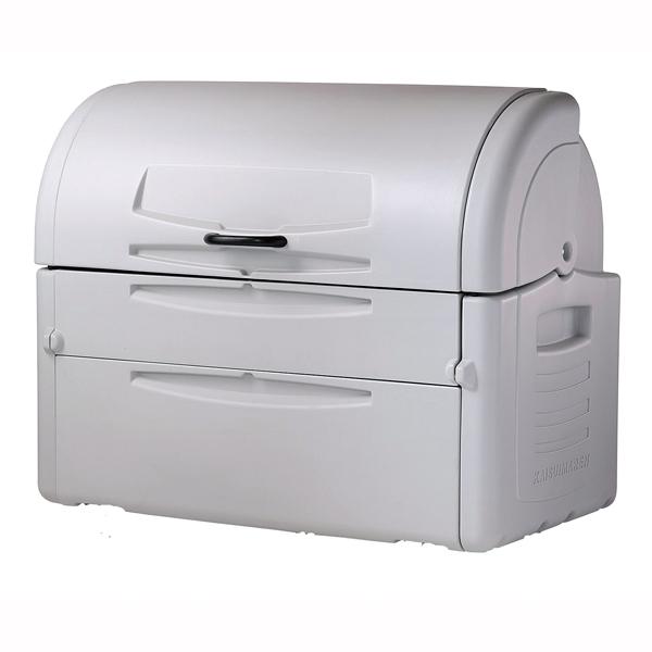 『 ゴミ箱 ゴミステーションボックス 』ジャンボペール PE850キャスターなし【 メーカー直送/後払い決済不可 】