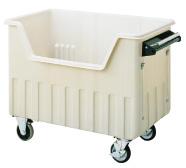 『 ゴミ箱 ゴミステーションボックス 』セキスイ ダストカート[520L] EDC5G ブレーキ無【 メーカー直送/後払い決済不可 】