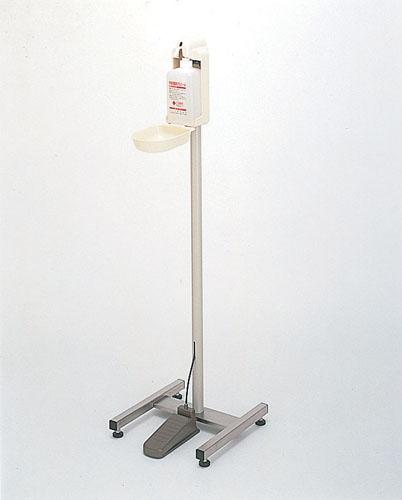 足踏式手指消毒器 HC-400スタンド型 キャスターなし 【 業務用 【 手指消毒器 】