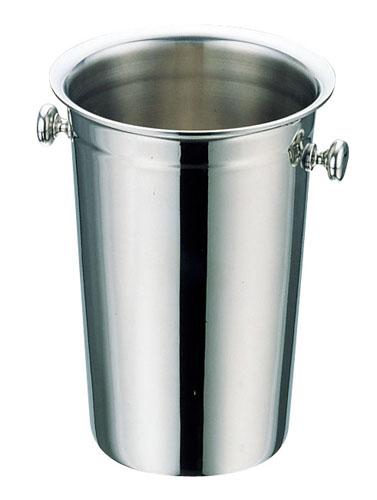 『 シャンパンクーラー 』 UK18-8 ステンレスロングタイプワインクーラー