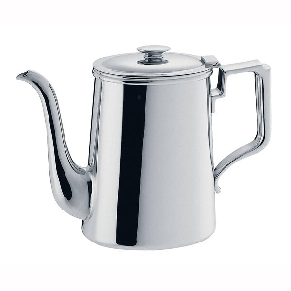 『 コーヒーポット 』SW18-8小判型コーヒーポット 8人用