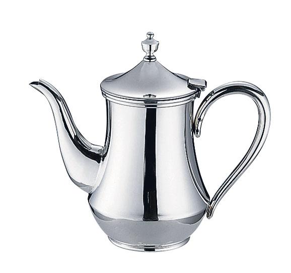 『 コーヒーポット 』ES 18-8ダイヤ型コーヒーポット 5人用