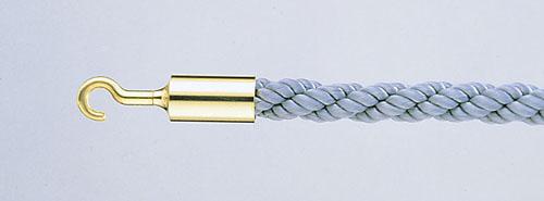 パーティションロープ Aタイプ 30B グレー 【 メーカー直送/代金引換決済不可 】 【 業務用 【 店舗備品 ロープ[パーテーション用] 】