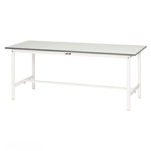 【まとめ買い10個セット品】 ワークテーブル 150シリーズ 均等耐荷重150kg  SUP-1275-WW シルキーホワイト