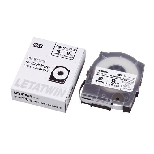 【まとめ買い10個セット品】チューブマーカー・レタツイン専用消耗品 テープカセット テープカセット 16m LM-TP509W 1巻16m マックス