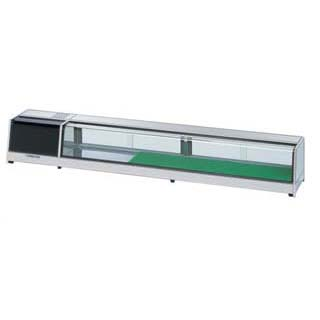 大穂製作所 ネタケース OH角型-NMX-2400(LED照明付) 幅2400×奥行300×高さ260mm【 メーカー直送/後払い決済不可 】