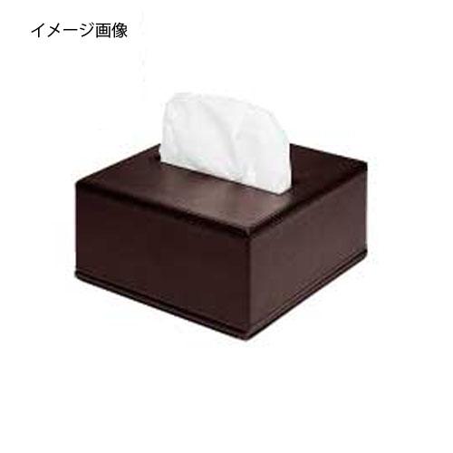 【まとめ買い10個セット品】シンビ ティッシュボックス TB-102 茶