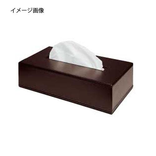 【まとめ買い10個セット品】シンビ ティッシュボックス TB-101 茶