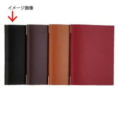 【まとめ買い10個セット品】シンビ メニューブック KM-201・P 黒