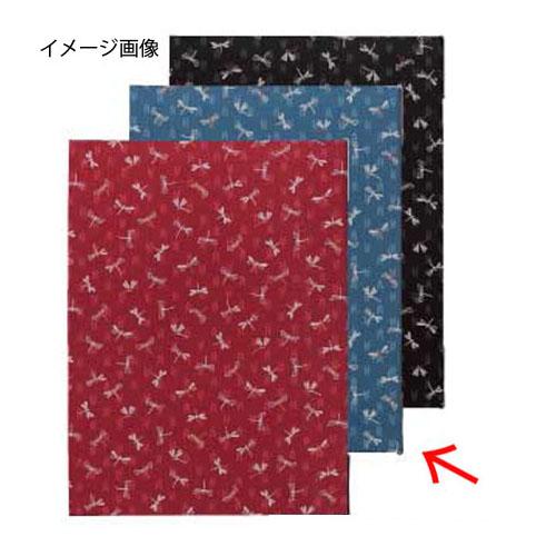 【まとめ買い10個セット品】シンビ 新和風メニューブック WA-8 とんぼ柄 水色