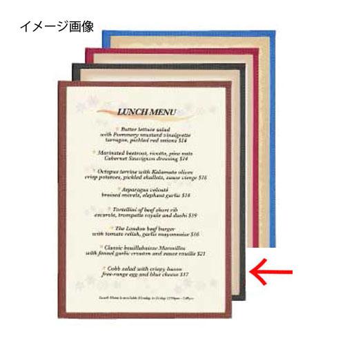 【まとめ買い10個セット品】シンビ メニューブック HB-ABW-7 黒
