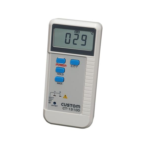 【まとめ買い10個セット品】 カスタム デジタル温度計 CT-1310D
