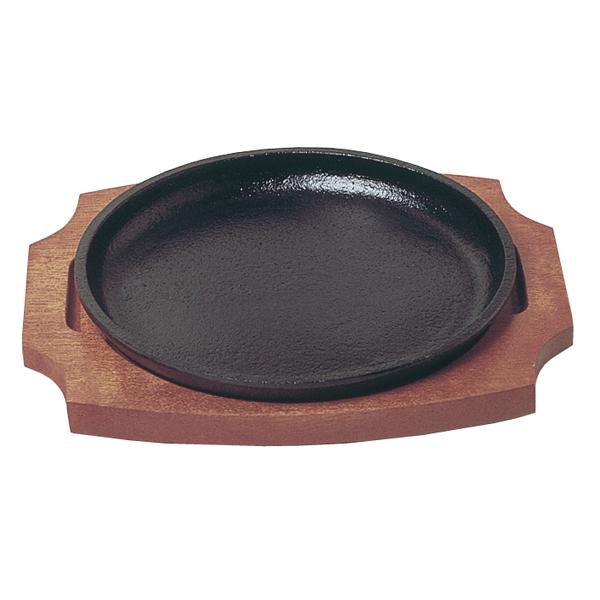 【まとめ買い10個セット品】トキワ ステーキ皿 丸型 小 17cm 304【 人気ステーキプレート 】