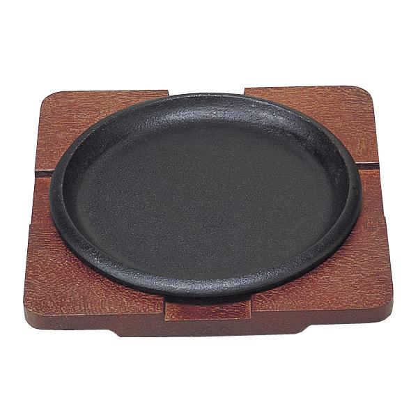 【まとめ買い10個セット品】トキワ ステーキ皿 丸型(浅型) 20cm 317【 人気ステーキプレート 】