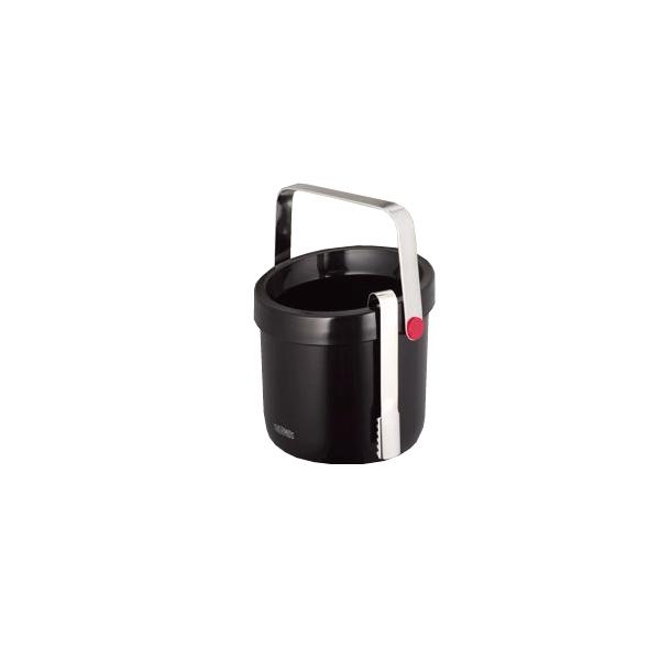 【まとめ買い10個セット品】 二重アイスペール TPE-1300BK ブラック サーモス (1.3L)