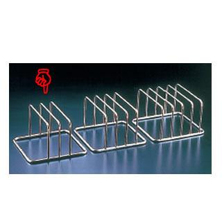 【まとめ買い10個セット品】KYS 18-8コンパクトまな板立 2枚立