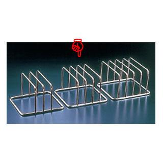 【まとめ買い10個セット品】KYS 18-8コンパクトまな板立 3枚立