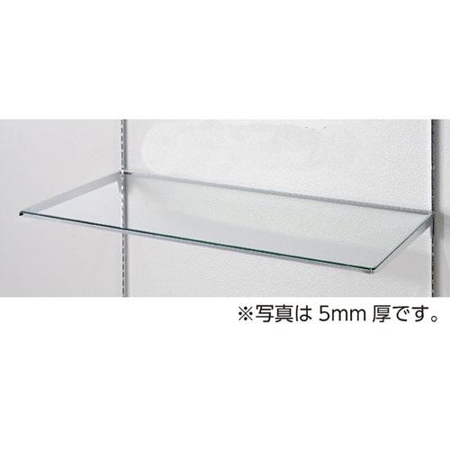 【まとめ買い10個セット品】10R ガラス棚セットW90cm インハングタイプ ガラス8mm厚 D30cm【 店舗什器 パネル ディスプレー 棚 店舗備品 】