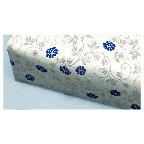【まとめ買い10個セット品】 並口包装紙 なごり花 藍 100枚【店舗什器 小物 ディスプレー ギフト ラッピング 包装紙 袋 消耗品 店舗備品】