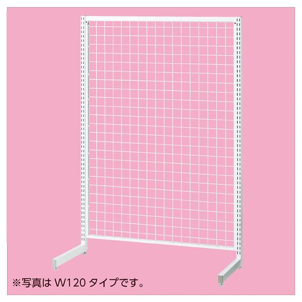 【まとめ買い10個セット品】 SR90強化型片面本体ホワイト H135cm
