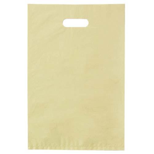 【まとめ買い10個セット品】 ポリ袋ハード型 カラー アイボリー 50×60 50枚【店舗什器 小物 ディスプレー ギフト ラッピング 包装紙 袋 消耗品 店舗備品】