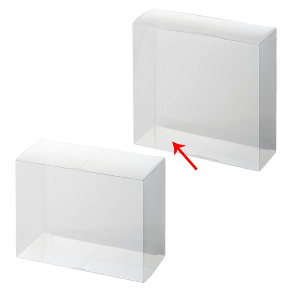 【まとめ買い10個セット品】 セットアップクリア四角BO×15×5×15cm10枚