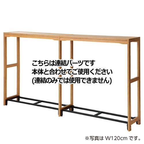 ウェルウッド 中央両面タイプ W90cmタイプ 連結 木天板セット【店舗什器 パネル ディスプレー 棚 店舗備品】