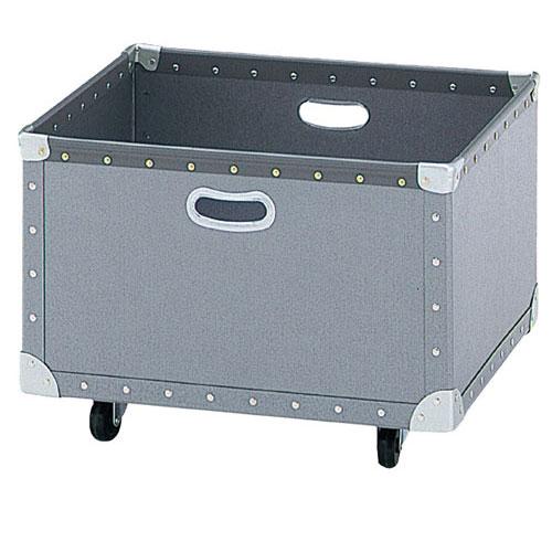 【まとめ買い10個セット品】 ファイバー収納ボックス W83cm(フタなし)【店舗什器 パネル ディスプレー 棚 店舗備品】