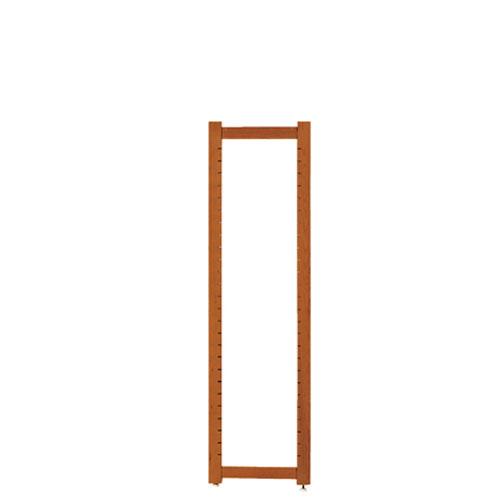 【まとめ買い10個セット品】アルテン サイドフレーム ブラウン H150cm【 店舗什器 パネル ディスプレー 棚 店舗備品 】