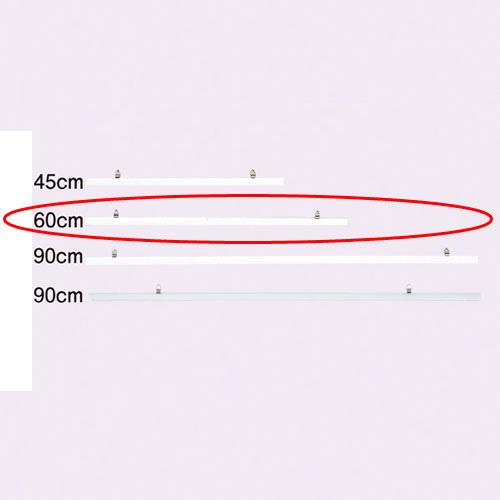 【まとめ買い10個セット品】 ポスターハンガー W60cm 白 5本【店舗什器 スーパー 値札 アパレルなど 店舗備品】