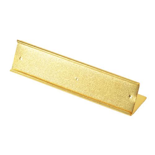 【まとめ買い10個セット品】リーガルプライス L型 ゴールド 10個【 店舗什器 パネル ディスプレー 棚 店舗備品 アパレル 品名表示 】