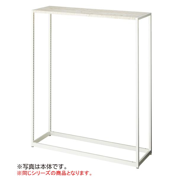 【まとめ買い10個セット品】 LR4中央片面ホワイト連結W120×H150cm シナ単板 木天板セット