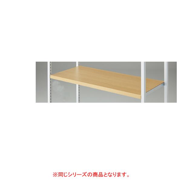 【まとめ買い10個セット品】 4点受け専用木棚セットホワイトW90cm アンティークホワイト