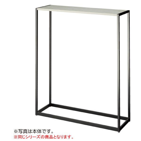 【まとめ買い10個セット品】 LR4ブラック中央片面H150W120連結ガラス 天板セット