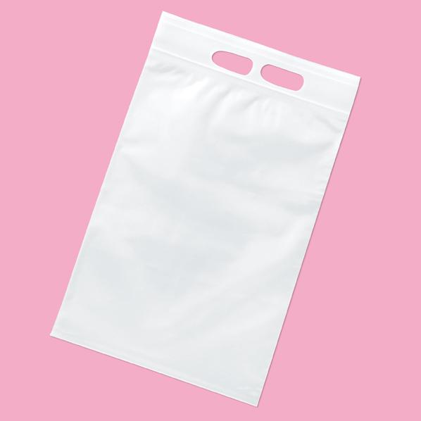 【まとめ買い10個セット品】 ユニハンディ チャック付き 透明 28×45cm100枚 28×45(40)cm 100枚