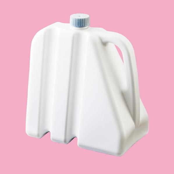 【まとめ買い10個セット品】 A型看板用注水ウェイト 白タンク
