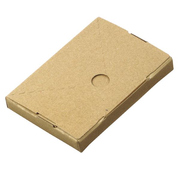 【まとめ買い10個セット品】 小型配送ボックス ハガキ 400枚 15.5×11×2cm
